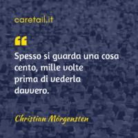 Aforisma Christiam Morgensten