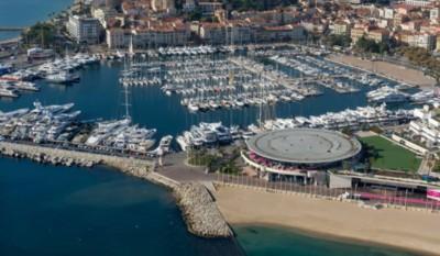Panoramica dall'alto della location del MAPIC a Cannes