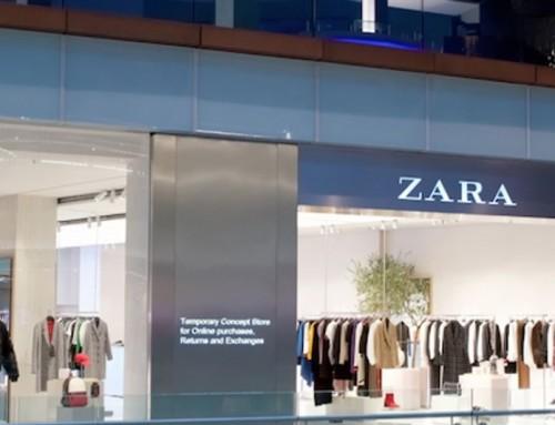 Zara: un pop-up londinese fa da teaser al negozio omnichannel