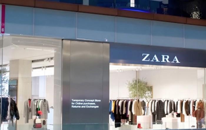 Negozio della linea Zara a Londra