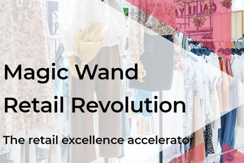 Locandina Magic Wand Retail Revolution