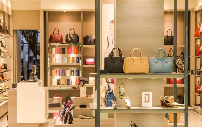 Immagine dell'interno di un negozio