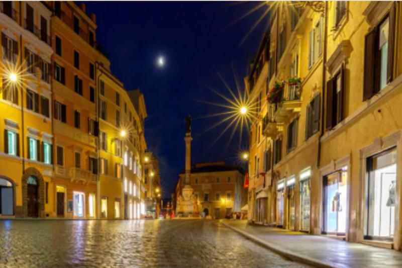 Roma fa da sfondo alla nuova app Tender